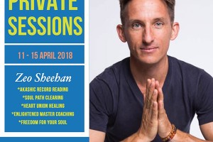 Private Healing Sessions (5 Types) with Zeo Sheehan, 11-15 April